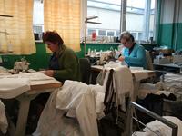 небольшой частный польский швейный цех по пошиву из трикотажа