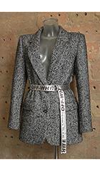 Шубка-куртка из искусственного меха. Мех Сибирский волк. Бренд Ма-Ма, г. Киев